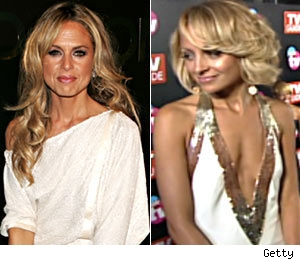 Rachel Zoe and Nicole Richie
