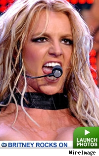 Britney rocks on: Click to launch gallery