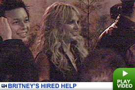 Britney's Paid Posse -- Click to Watch