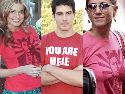 Celebs love Worn Free T-shirts