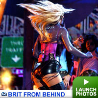 Brit from behind: click to launch