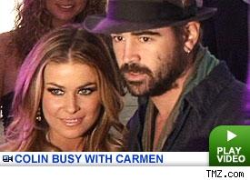 Carmen Electra & Colin Fa