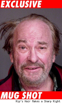 Rip Torn exclusive mugshot