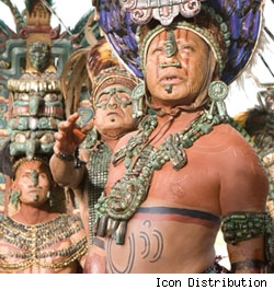 Film still from Apocalypto
