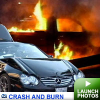 Celebrity car crashes gallery: Click to launch gallery