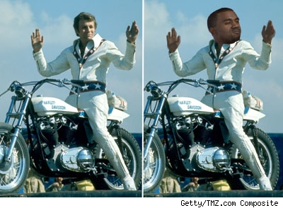 Evel Kneivel, Kanye West