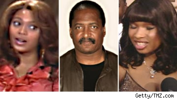 Beyonce, Matthew Knowles, Jennifer Hudson