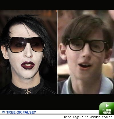 Marilyn Manson and josh Saviano: click to link