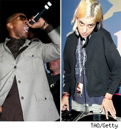 Jamie Foxx and Samantha Ronson