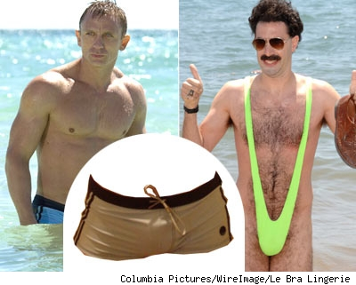 Daniel Craig and Borat