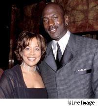 Juanita and Michael Jordan