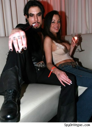 Dave Navarro in Vegas for New Year's Eve