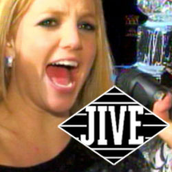 Britney Spears & Jive Records logo