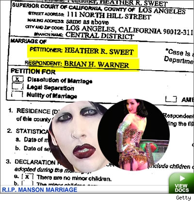 Manson Divorce Docs