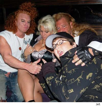 Carrot Top, Beth, The Dog and Andy Milinokis