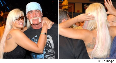 Anna Nicole, Hulk Hogan and Howard K Stern