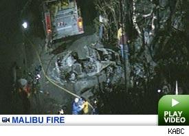 Malibu fire: Click to watch