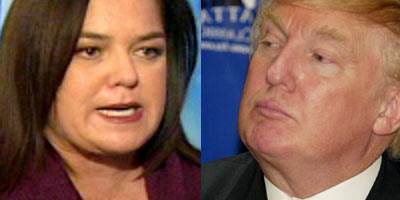 Rosie O'Donnell vs. Donald Trump