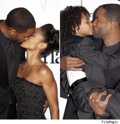 Will Smith kissing