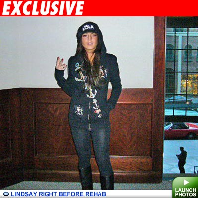 Lindsay heads to rehab: Click to view photos