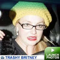 Trashy Britney: Click to view photos