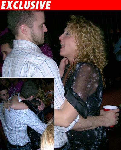 Justin Timberlake and his mom