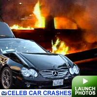Celeb Car Crashes: Click to launch photos