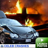 Celeb Car Crashes: Click to see photos