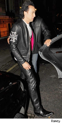 Nick in leather