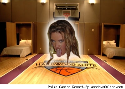 Katie Rees in the Hardwood Suite.