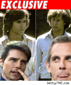 Hardy Boys composite with Tom Cruise and Ben Stiller