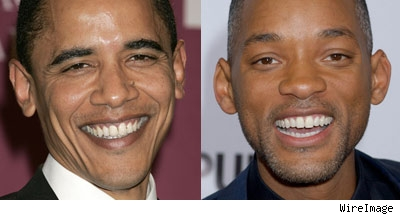 Barack Obama and Will Smith