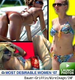 Most Desirable Women of 2007: Click to launch photos
