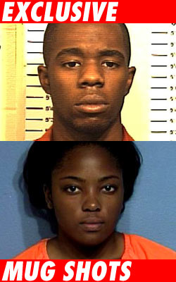 Mugshots of Akron Wilson and Ashlyn Carr