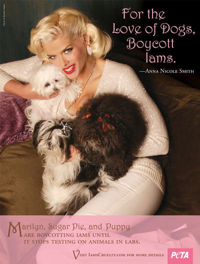 Anna Nicole Smith Peta AD