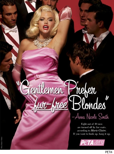 Anna Nicole Smith's Peta AD