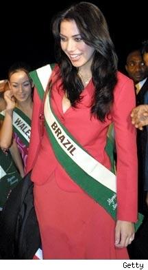 Former Miss Brazil Taiza Thomsen