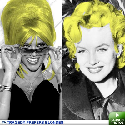 Tragic blondes: click for images