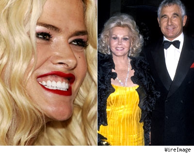 Anna Nicole Smith and the Fredrick von Anholt and Zsa Zsa Gabor
