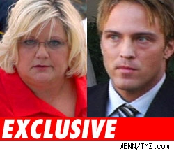Virgie Arthur and Larry Birkhead