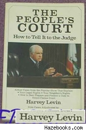 Peoples Court book by Harvey Levin
