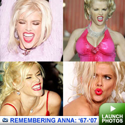 Remembering Anna Nicole Smith: Click to launch photos