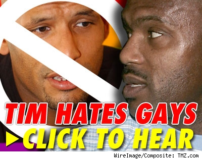 Tim hates gays: listen to audio