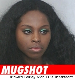 Foxy Brown Mugshot