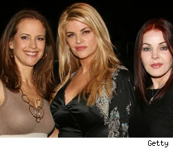 Kelly Preston, Kirstie Alley, Priscilla Presley