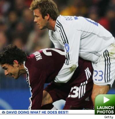 David Beckham: click to launch