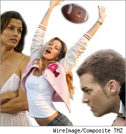 Bridget, Gisele, and Tom Brady