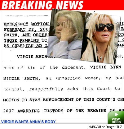 Court docs: Anna Nicole Smith