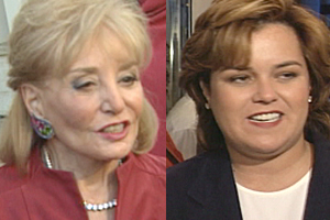 Barbara Walters, Rosie O'Donnell