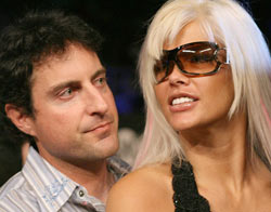 Howard Stern and Anna Nicole Smith
